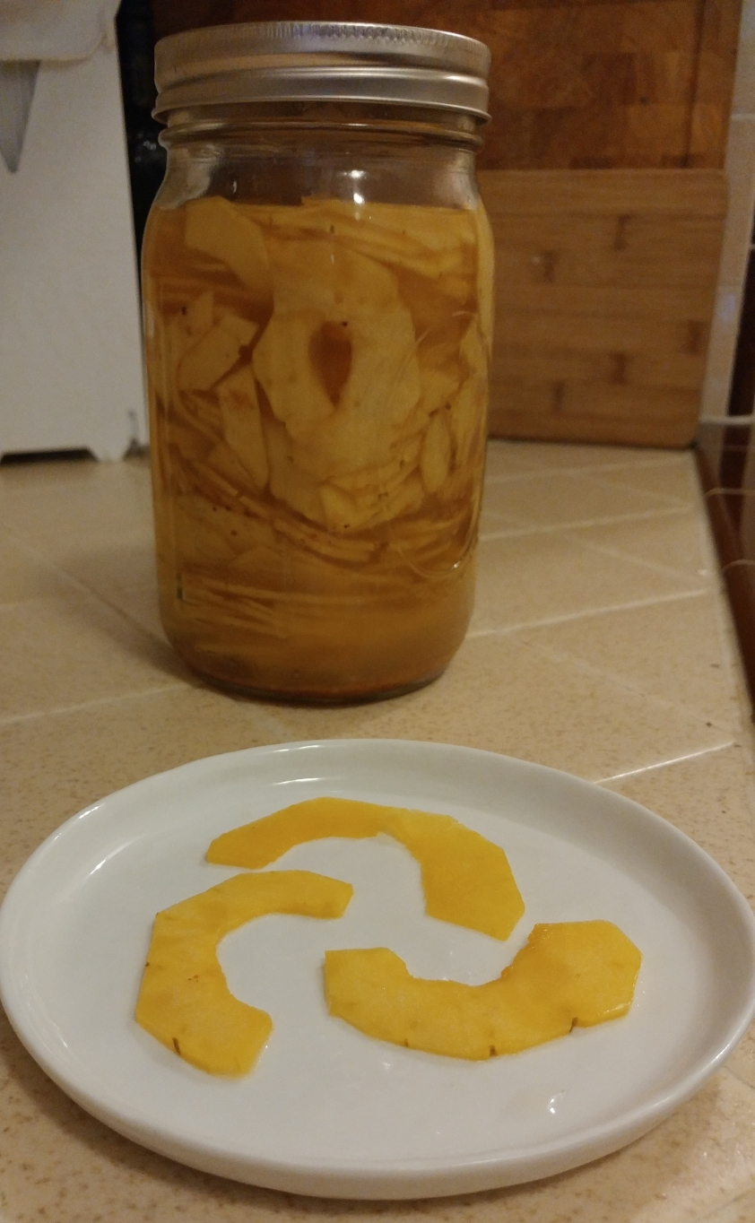 Five-day delicata ferment